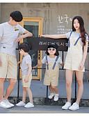 povoljno Obiteljski komplet odjeće-Obiteljski izgled Prugasti uzorak Kratkih rukava Komplet odjeće