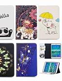 halpa Puhelimen kuoret-Etui Käyttötarkoitus Samsung Galaxy Tab S2 8.0 Lomapkko / Korttikotelo / Tuella Suojakuori Elefantti Kova PU-nahka
