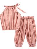 povoljno Donje rublje i čarape za djevojčice-Dijete koje je tek prohodalo Djevojčice Osnovni Jednobojni Bez rukávů Komplet odjeće