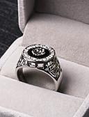 preiswerte Armband-Uhren-Herrn Statement-Ring - Strass, Aleación Löwe, Tier Personalisiert, Luxus 8 / 9 / 10 / 11 / 12 Silber / Golden Für Party Geschenk Alltag