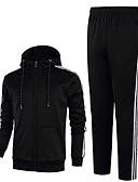 ieftine Maieu & Tricouri Bărbați-Bărbați De Bază activewear Set Dungi