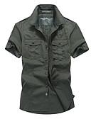 povoljno Muške košulje-Majica Muškarci - Osnovni Dnevno Jednobojni