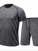 povoljno Muške košulje-Set Muškarci - Osnovni Dnevno Prugasti uzorak