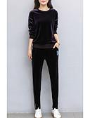 ieftine Costum Damă Două Bucăți-Pentru femei Set - Mată, Pantaloni