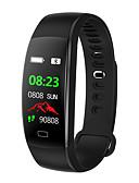 olcso Sportos óra-BoZhuo F64HR Intelligens Watch Android iOS Bluetooth Sportok Vízálló Szívritmus monitorizálás Vérnyomásmérés Elégetett kalória Lépésszámláló Hívás emlékeztető Alvás nyomkövető ülő Emlékeztető Hol a