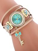 cheap Quartz Watches-Women's Bracelet Watch Quartz Black / White / Blue Casual Watch Imitation Diamond Analog Ladies Casual Fashion - Brown Red Blue One Year Battery Life