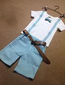 povoljno Kompletići za dječake-Djeca Dječaci Osnovni Jednobojni Kratkih rukava Komplet odjeće Obala