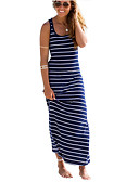 cheap Women's Dresses-Women's Cotton Shift Dress Maxi / Spring