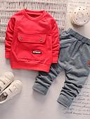 povoljno Kompletići za Za dječake bebe-Dijete Dječaci Print Dugih rukava Komplet odjeće