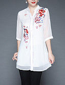 cheap Women's Nightwear-AINIER Women's Vintage / Basic Blouse - Solid Colored / Floral