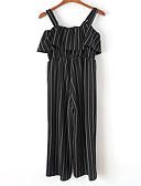 povoljno Ženski jednodijelni kostimi-Žene Osnovni Odjeća za igru Prugasti uzorak