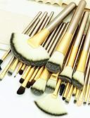 رخيصةأون زينة الكيك-عدد 24 قطعة فرش المكياج محترف فرشاة الألياف الاصطناعية صديقة للبيئة / متخصص / ناعم خشبي / بامبو