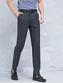 ieftine Pantaloni Bărbați si Pantaloni Scurți-Bărbați Zvelt Costume / Pantaloni Chinos Pantaloni Mată / Muncă