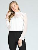 ieftine Rochii Maxi-Pentru femei Stil Nautic Bluză Ieșire Boho - Dungi / Manșon Lung / Primăvară / Vară / Zvelt