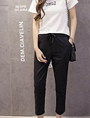 cheap Women's Two Piece Sets-Women's Cotton Chinos Pants - Solid Colored
