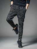 cheap Men's Pants & Shorts-Men's Cotton / Linen Harem Pants - Solid Colored