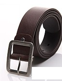 cheap Men's Belt-Unisex Basic Wide Belt - Solid Colored