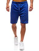 ieftine Pantaloni Bărbați si Pantaloni Scurți-Bărbați De Bază / Șic Stradă Pantaloni Sport / Pantaloni Scurți Pantaloni Mată