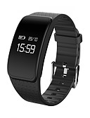 cheap Sport Watches-Smart Bracelet Smartwatch A59 for Waterproof / Blood Pressure Measurement / Calories Burned / Long Standby / Touch Screen Pedometer / Call Reminder / Activity Tracker / Sleep Tracker / Sedentary