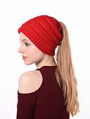 billige Damehatte-Dame Vintage / Basale Blød Hat Ensfarvet