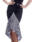 זול חולצה-ריקוד לטיני חלקים תחתונים בגדי ריקוד נשים הדרכה אלסטיין תד נשפך טבעי חצאיות