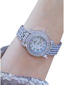 ieftine Quartz-Pentru femei Ceas de Mână Quartz 50 m Creative Oțel inoxidabil Bandă Analog Elegant Argint - Argintiu Un an Durată de Viaţă Baterie