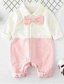 povoljno Vanjska odjeća za bebe-Dijete Djevojčice Jednobojni Dugih rukava Jednodijelno