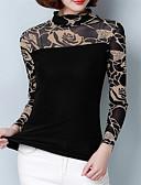 ieftine Bluză-Pentru femei Stil Nautic Bluză Ieșire Floral