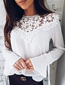 ieftine Tricou-Pentru femei Bluză Bumbac Mată