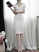 povoljno Maxi haljine-Žene Pamuk Shift Haljina Do koljena