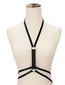 ieftine Lenjerie la Modă-Femei Balcon Sutiene Cu Bretele - Mată
