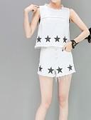 ieftine Tricou-Pentru femei Mâneci Bufante Activ Set - Mată, Pantaloni Plisată