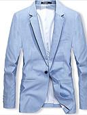 ieftine Maieu & Tricouri Bărbați-Bărbați Blazer De Bază - Mată, Supradimensionat