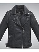 cheap Boys' Jackets & Coats-Kids Boys' Active Solid Colored Long Sleeve Cotton Jacket & Coat
