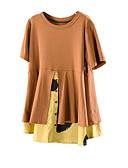 povoljno Majica s rukavima-Majica s rukavima Žene Izlasci Jednobojni