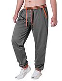 ieftine Pantaloni Bărbați si Pantaloni Scurți-Bărbați Bumbac Pantaloni Chinos / Pantaloni Sport Pantaloni Mată
