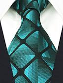 cheap Men's Ties & Bow Ties-Men's Party / Work Necktie - Galaxy / Color Block / Check