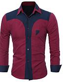 povoljno Muške košulje-Majica Muškarci - Osnovni Dnevno Color block