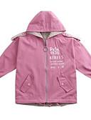 cheap Girls' Jackets & Coats-Kids Girls' Basic Geometric Long Sleeve Cotton Suit & Blazer
