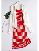 cheap Women's Swimwear & Bikinis-Women's Set - Striped Skirt