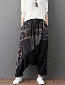 ieftine Pantaloni de Damă-Pentru femei Larg Pantaloni Chinos Pantaloni Bloc Culoare