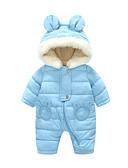 levne Dětské bundičky a kabátky-Dítě Chlapecké Základní Denní Jednobarevné Dlouhý rukáv Jeden kus Vodní modrá / Toddler