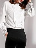 ieftine Pantaloni de Damă-Pentru femei Stand Bluză Mată / Zvelt