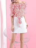 povoljno Ženski dvodijelni kostimi-Žene Bluza - Color block Suknja