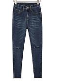 ieftine Pantaloni de Damă-Pentru femei Șic Stradă Blugi Pantaloni Mată