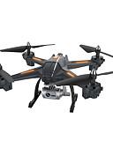billige Militærklokke-RC Drone XINGYUCHUANQI XY-S6 RTF 4 Kanaler 6 Akse 2.4G Med HD-kamera 3.0 720 Fjernstyrt quadkopter En Tast For Retur / Hodeløs Modus / Tilgang Real-Tid Videooptakelse Fjernstyrt Quadkopter / Sveve
