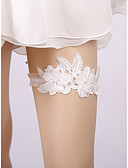 cheap Women's Nightwear-Lace Wedding / Lace Wedding Garter With Faux Pearl Garters Wedding / Special Occasion