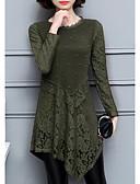 رخيصةأون فساتين للنساء-فستان نسائي ثوب ضيق أساسي / أنيق غير متماثل نحيل