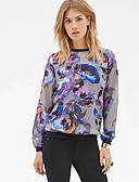 povoljno Majica s rukavima-Žene Ulični šik Sportska majica Geometrijski oblici