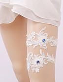 cheap Quartz Watches-Lace Wedding / Lace Wedding Garter With Rhinestone Garters Wedding / Special Occasion